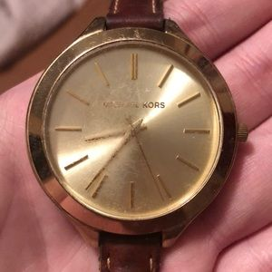 Worn Michael Kors Watch